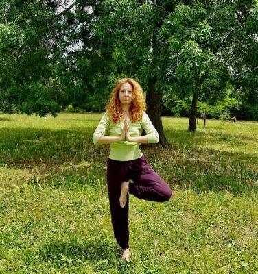 Yoga Come fare l'Albero