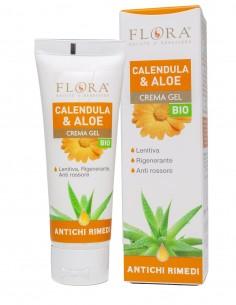 Flora calendula e aloe crema gel 75ml bio