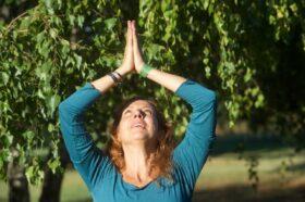 La montagna yoga, asana del qui e ora: scali il cielo per conquistare consapevolezza, centratura e vitalità