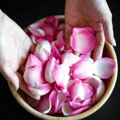 Metti i fiori nel piatto